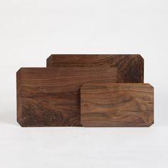 Elegant organic cutting boards by Taylor Donsker Design