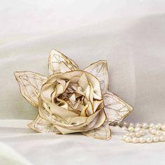 pearl and silk rose 48 by ewa morawski textiles | notonthehighstreet.com