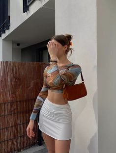 Cute Casual Outfits, Stylish Outfits, Summer Outfits, Cute Fashion, Girl Fashion, Fashion Outfits, Aesthetic Fashion, Aesthetic Clothes, Pinterest Girls