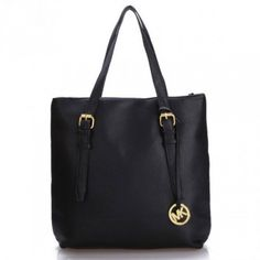 images of michael kors ladies' handbags | Michael Kors Jet Set black Bags