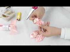 Tiaras Para Bebê - Flor com Laço - YouTube