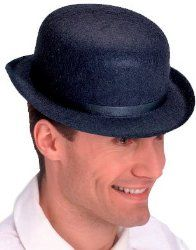 Derby hats: New A Clockwork Orange Alex Black Costume Derby Hat