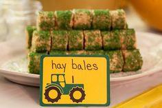 tractor birthday party ideas | Party Ideas / John Deere Tractor Birthday Party – Our Family Unit. Hay …  | followpics.co