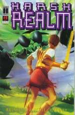 You may have seen the show Harsh Realm in the 90s, obviously, they changed the story from my comic. But not enough.