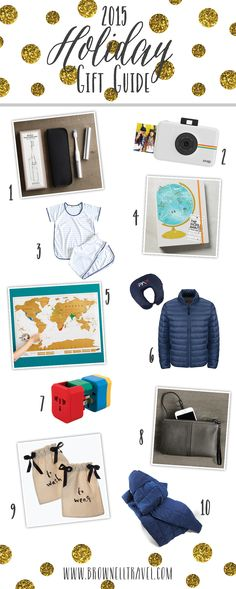 2015 Holiday Gift Guide for Travelers http://www.brownelltravel.com/2015-holiday-gift-guide/