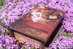 тут изображено Шкатулка-книга ′Три медведя′