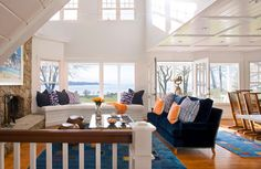 Coastal Living Room- Michael McKinley and Associates, LLC