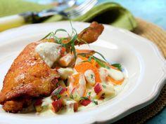 Kyllinglår med søtpotet