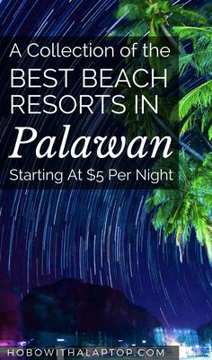 Our next long-term stop is Palawan in the Philippines and we're going to class… Travel Articles, Travel Advice, Travel Guides, Travel Tips, Travel Destinations, Budget Travel, Work Travel, Asia Travel, Blog Logo
