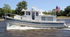 Nordic Tug 34: The Nordic Tug 34 is part of the six-boat lineup of coastal cruisers designed for long voyages from home.