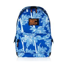 Superdry Palm Springs Montana Rucksack (€39) ❤ liked on Polyvore featuring bags, backpacks, white, logo bags, strap backpack, padded bag, white backpack ve backpacks bags