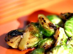 Brussels Sprouts from the Gods :)    http://allrecipes.com/recipe/roasted-brussels-sprouts/detail.aspx        • 1 1/2 pounds Brussels sprouts, ends trimmed and yellow leaves removed  • 3 tablespoons olive oil  • 1 teaspoon kosher salt  • 1/2 teaspoon freshly ground black pepper