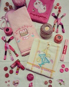 Pink...Lady! Filati, Bottoni per Chi Ama il Rosa!