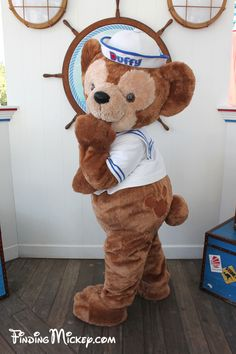 Duffy the Disney Bear Tokyo Disney Sea, Tokyo Disney Resort, Disneyland Resort, Disney Trips, Disney Parks, Walt Disney, Disney Food, Disney Stuff, Duffy The Disney Bear