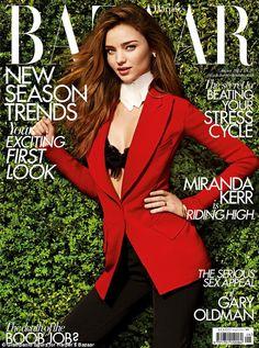 Miranda Kerr for Harper's Bazaar UK August 2012