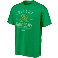 ab3f29ab1d4 Notre Dame Fighting Irish Blue 84 2018 Week 1 ESPN Gameday T-Shirt – Green