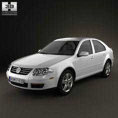 Volkswagen Jetta City 3d model from humster3d.com. Price: $75