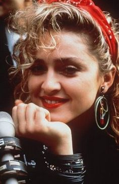 Madonna's music in the 80's