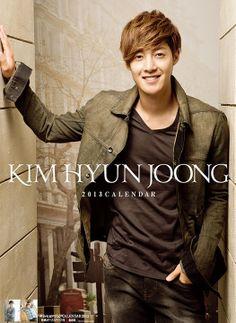 Kim Hyun Joong 2013 Calendar (Japan Version)
