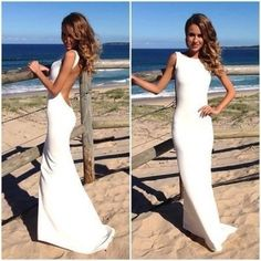 Off White Backless Dress $429