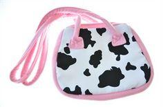 Karnevalswierts.com - Zubehör - - Tasche Kuh Luxus 13,75 € Lunch Box, Cow, Carnivals, Monochrome, Luxury, Dime Bags