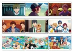 Ok god... like all I can see is the collar for that sweater, but Making looks so good!!!! Also, Iwatobi-chan bread! Free! Take your Marks postcards
