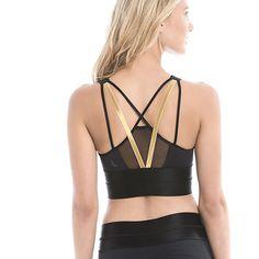 Lolё Holiday Gift Ideas for indoor #workout : Zaha Bra / Nos idées cadeaux pour l'entraînement intérieur: le soutien-gorge Zaha