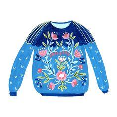 Flora Waycott - folky jumper ♡