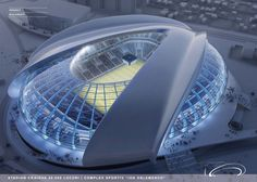 New Football Stadium Inspired By Brancusi's Perform To Be Developed In Romania | Decor Advisor