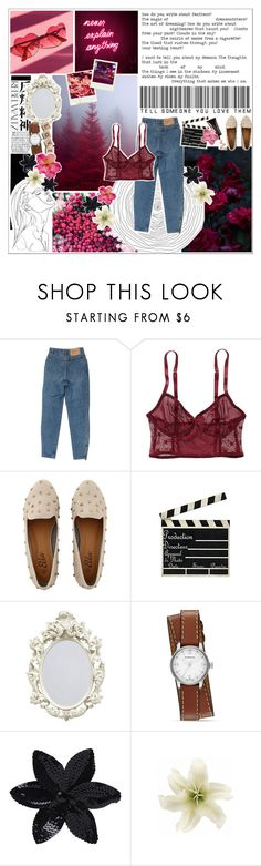 """""""I've got a jet black heart, and there's a hurricane underneath it"""" by wanderlxst-qxeen ❤ liked on Polyvore featuring Cannella, Polaroid, American Eagle Outfitters, Hedi Slimane, Pixie, Burberry, ASOS and Clips"""