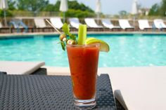 When you're at the pool with Saturday sun and a Make-Your-Own Bloody Mary Bar (10am-12pm), life is good at Four Seasons Hotel Austin!