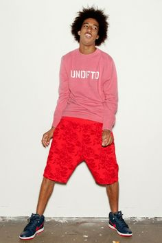 Undefeated Summer 2013 Lookbook featuring Taco of Odd Future
