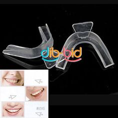 One-Pair-Thermoforming-Tooth-Whitener-Dental-Teeth-Whitening-Trays-Bleaching Dental Teeth, Teeth Whitening, Trays, Tooth, Bleach, Pairs, Tooth Bleaching, Teeth, Food Trays