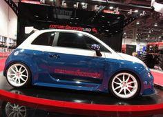 Fiat 500 Abarth Cinquone Tributo USA by RomeoFerraris #fiat500 #abarth #tuning