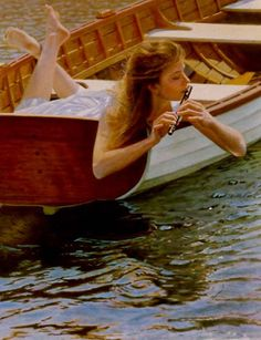"""Siren Song"" -- by Peter Taylor Quidley (b.1945, American)"