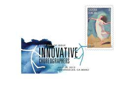 Innovative Choreographers: Isadora Duncan Digital Color Postmark | Cancellation | USA Philatelic