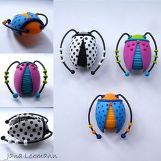 Beetle Brooches | Flickr - Photo Sharing!