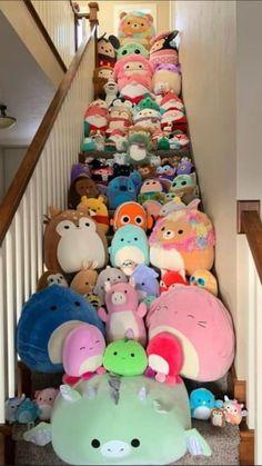 Cute Stuffed Animals, Cute Animals, Figet Toys, Cute Squishies, Cool Fidget Toys, Kawaii Room, Cute Pillows, Cute Plush, Cute Toys