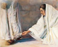 """(Mark 5:28) Because she thought, """"If I just touch his clothes, I will be healed."""""""