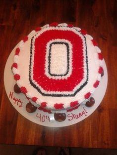 ohio state cake - Google Search