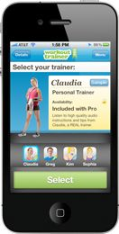 Awesome personal trainer for your iPhone/iPod. There's a free version and Pro version. I have the free one and it ROCKS! Free Workout Apps, Fun Workouts, Workout Trainer, Get A Six Pack, Pro Version, Ipod, Phone, Fitness Design, Certified Personal Trainer