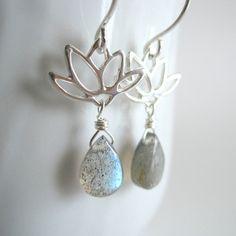 Kahili Creations - Lotus Earrings