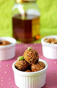 ... / Laddoo / Sweet Balls on Pinterest | Diwali, Coconut and Oreo ball