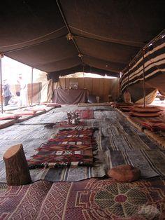 'Stop for Tea in the Bedouin Tent'  via mahala knight
