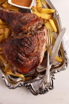 turkey leg slow cooked 683x1024 Oven Slow Cooked Turkey Leg with Vegetables