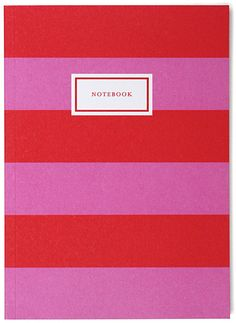 stripe notebook | sa