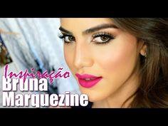 ▶ Maquiagem inspirada na Bruna Marquezine - YouTube
