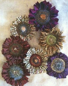 Proddy Sunflowers - RUG HOOKING DAILY