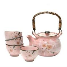I found 'Cute Japanese Cherry Blossom tea set.<3' on Wish, check it out!