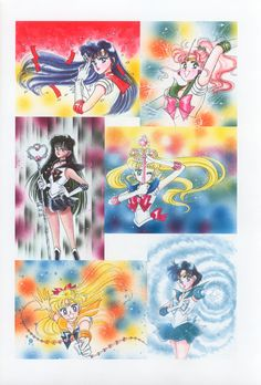 美少女戦士セーラームーン原画集 Bishoujo Senshi Sailor Moon Original Picture Collection Vol.2 by Naoko Takeuchi